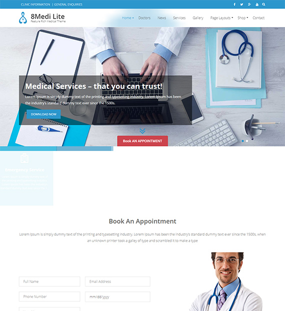 Eightmedi-Lite-WordPress-Medical-Theme