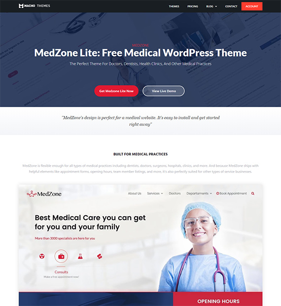 Medzone-Lite-Medical-WordPress-Theme