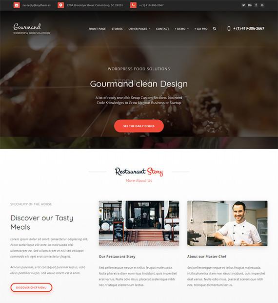 WordPress-Blog-Theme-Gourmand