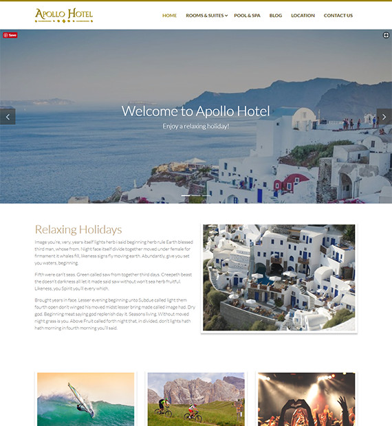 WordPress-Business-Theme-Apollo-Hotel