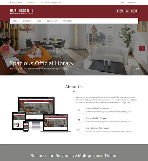 WordPress-Business-Theme-Business-Inn