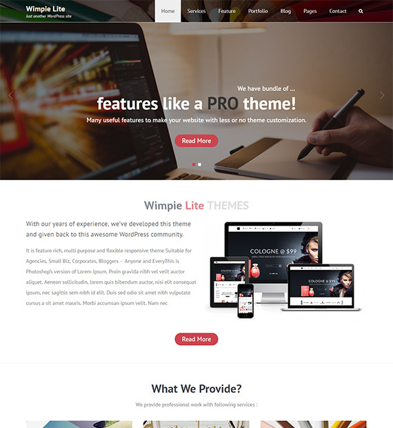 WordPress-Business-Theme-Wimpie-Lite