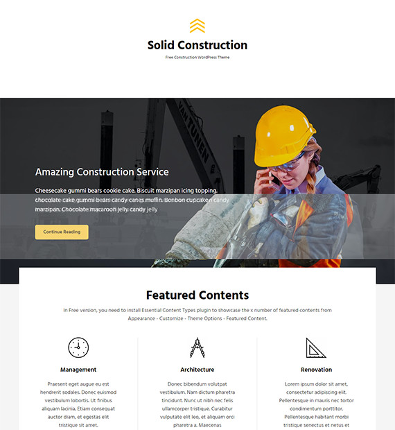 WordPress-Business-theme-solid-construction