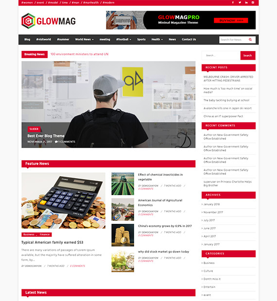 WordPress-Magazine-Theme-GlowMag
