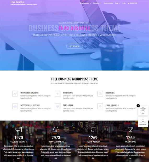 Envo Business-Free Multipurpose WordPress Theme
