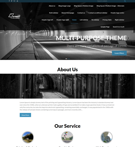 WordPress-Multipurpose-theme-FortySeven-Street