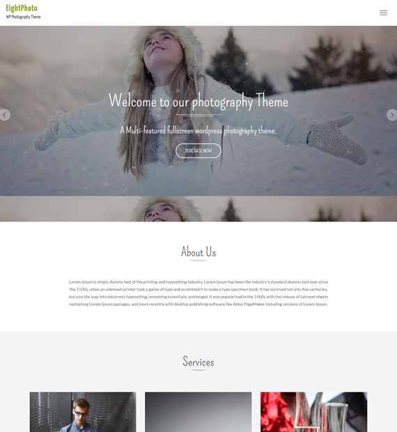 WordPress-Photography-theme-EightPhoto