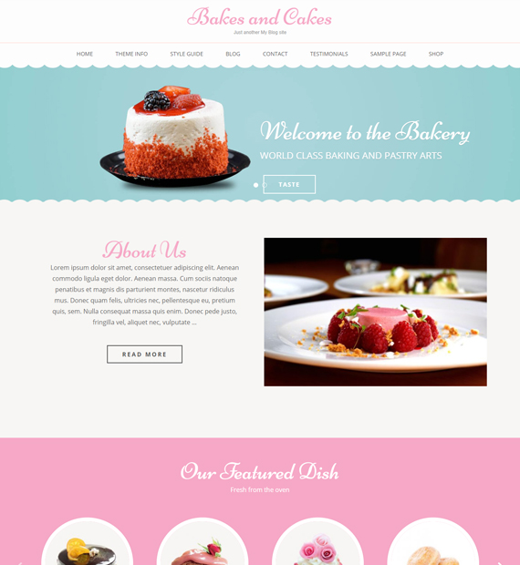 wordpress-business-theme-bakes-and-cakes