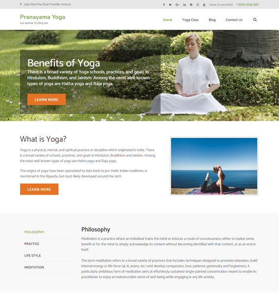 wordpress-business-theme-pranayama-yoga