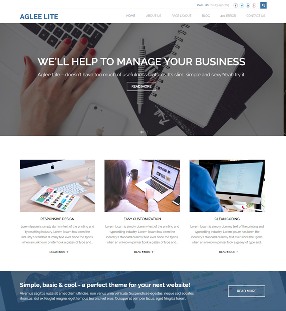 aglee-lite-wordpress-business-theme