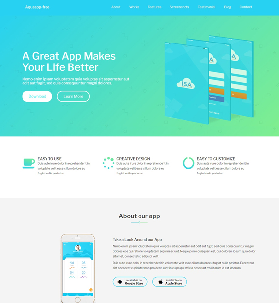 aquaapp-wordpress-business-theme