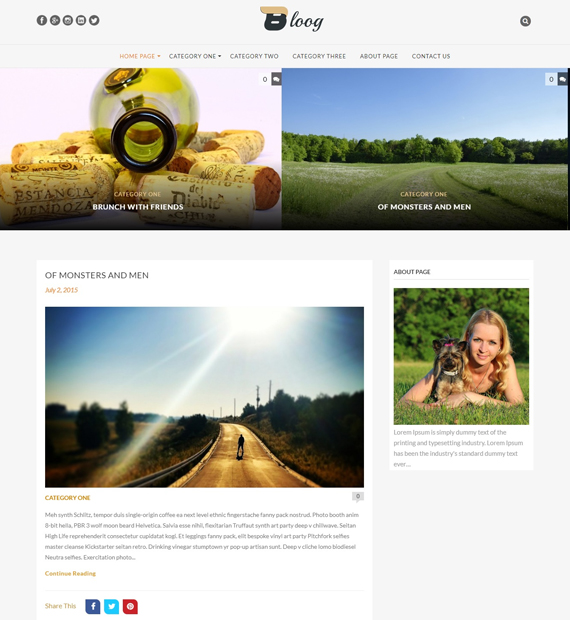 bloog-lite-wordpress-blog-theme