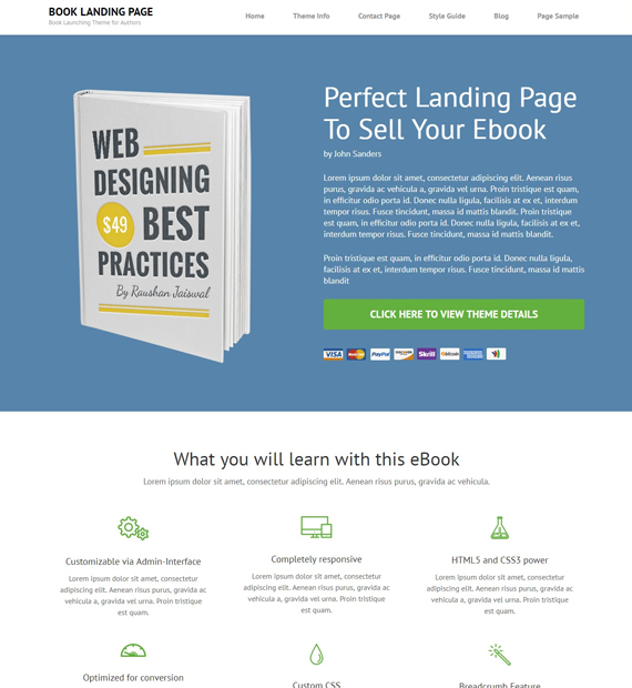 book-landing-page-wordpress-landing-page-theme