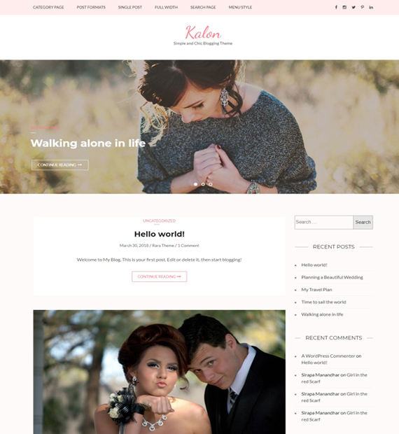 kalon-wordpress-blog-theme