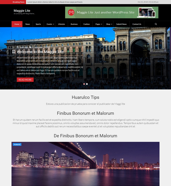 maggie-lite-wordpress-magazine-theme