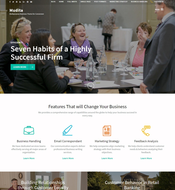 mudita-wordpress-business-theme