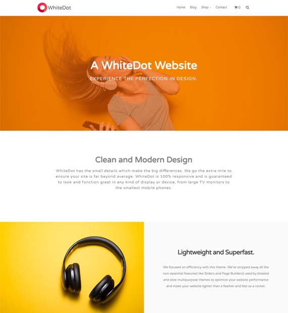WhiteDot-WordPress-Multipurpose-Theme