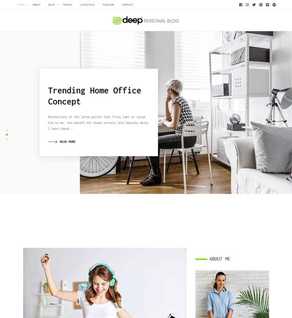 Deep-Free-Wordpress-Multipurpose-Theme
