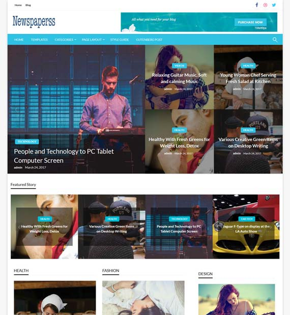 Newspaperss-WordPress-Magazine-Theme