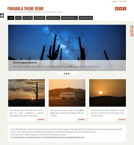 Parabola-WordPress-Blogging-Theme