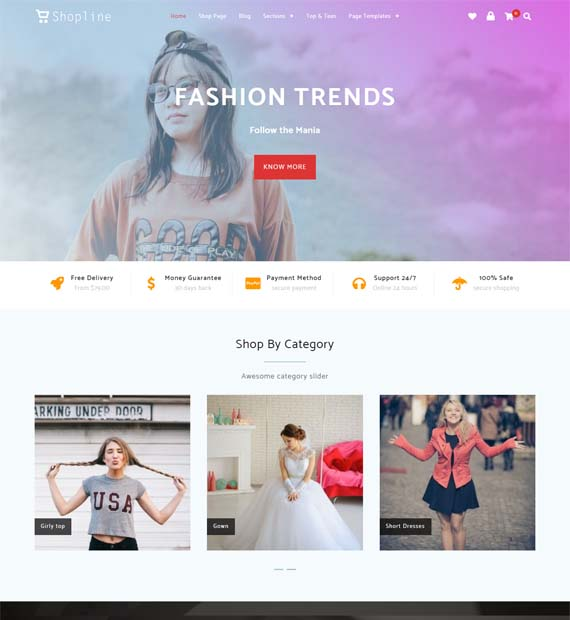 Shopline-Free-WordPress-Business-Theme