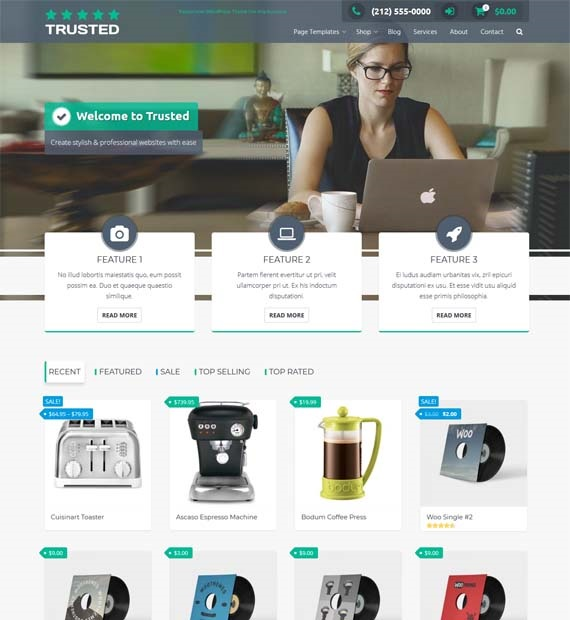 Trusted-Free-WordPress-Business-Theme