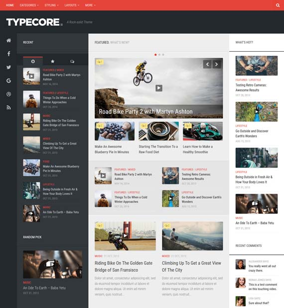 Typecore-WordPress-Magazine-Theme