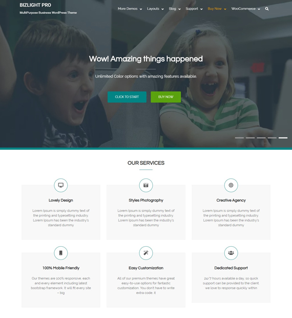 bizlight-WordPress-business-theme