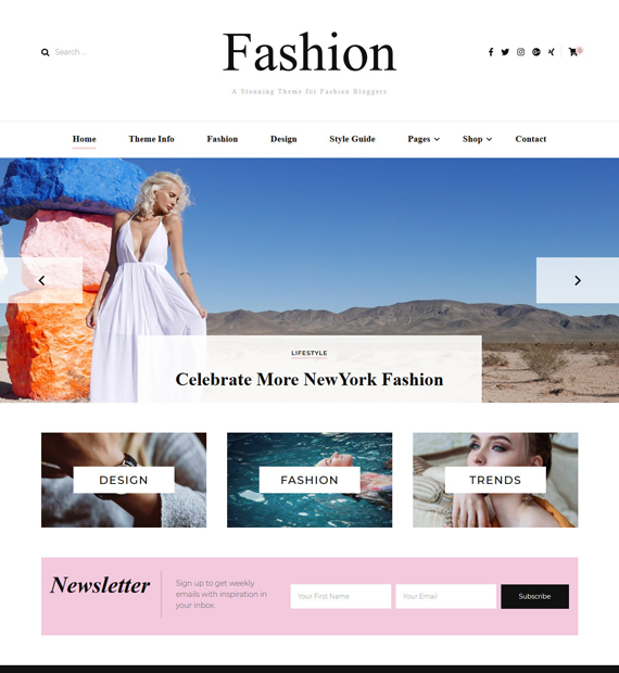 Blosson-Fashion-WordPress-Blogging-Theme