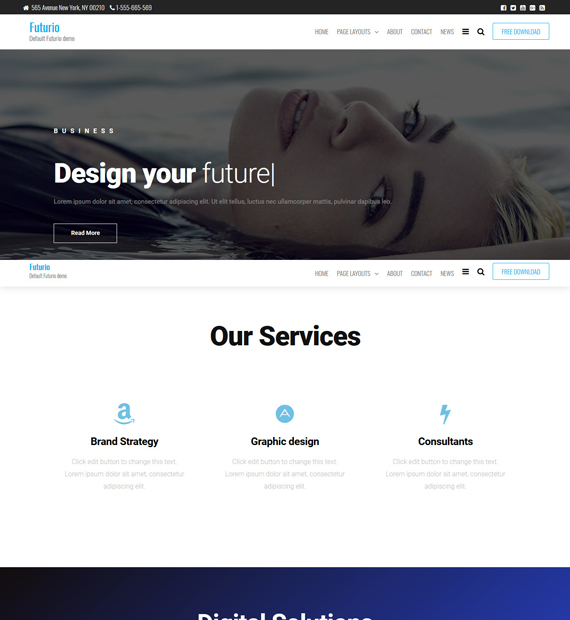 Futurio-WordPress-Multipurpose-Theme