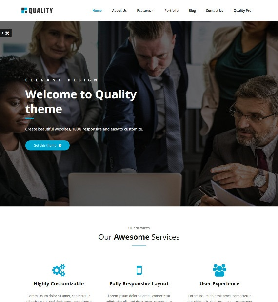 Quality-WordPress-Business-Theme