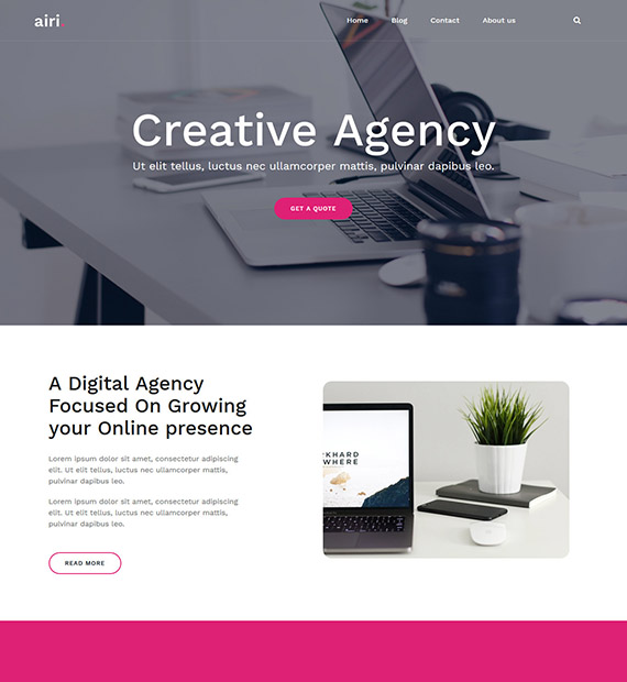 airi-wordpress-business-theme