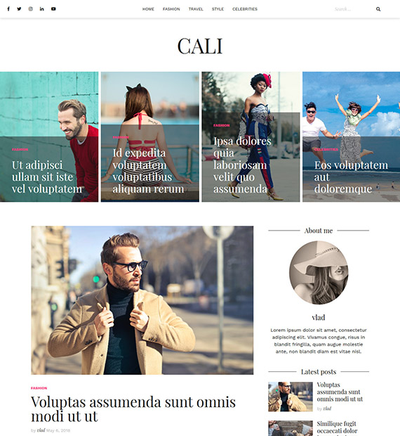 cali-WordsPress-Blog-Theme