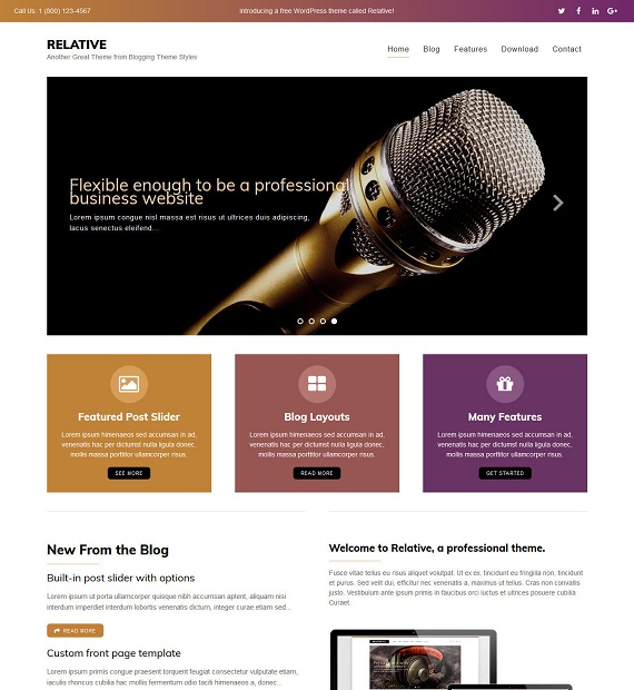 relative-wordpress-blogging-theme