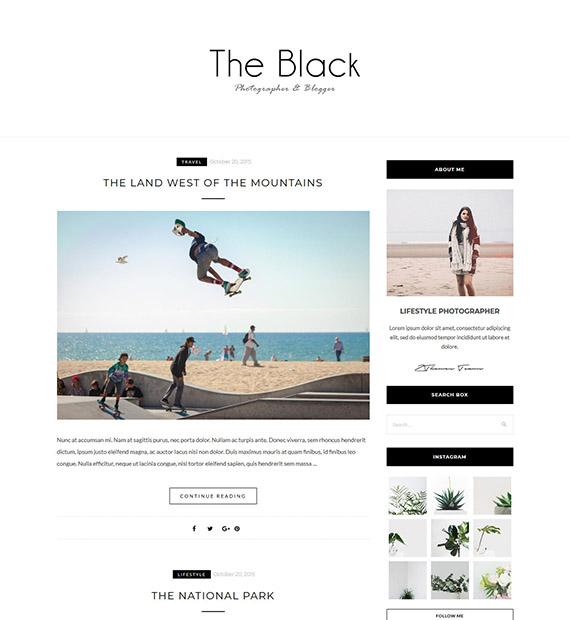 Blacklite-WordPress-Blogging-Theme
