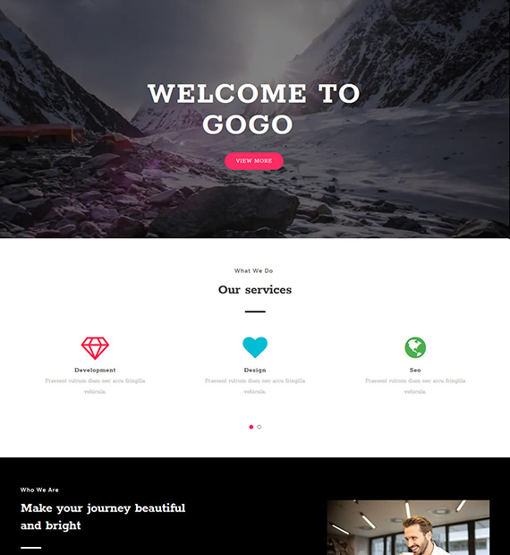 gogo-wordpress-multipurpose-theme