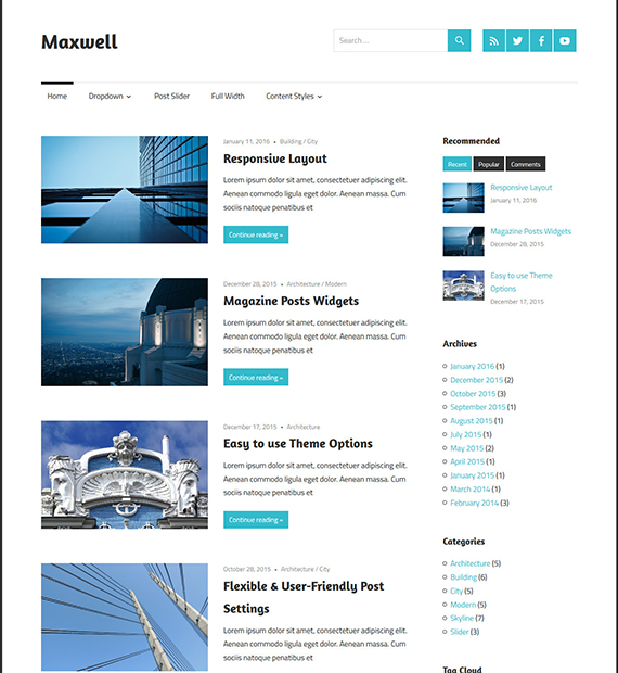 maxwell-wordpress-magazine-theme