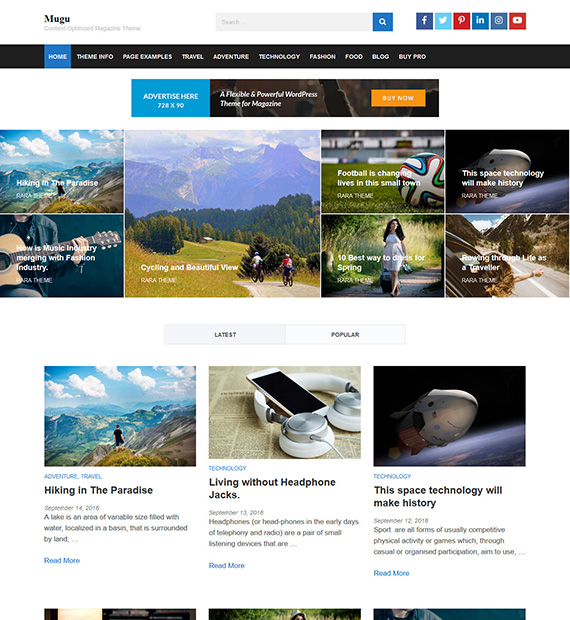 mugu-wordpress-magazine-theme