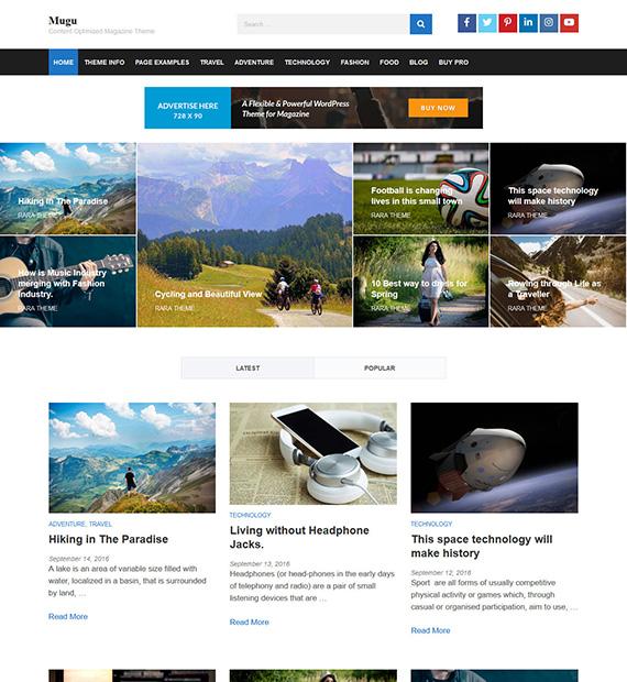 mugu-wordpress-magazine-theme