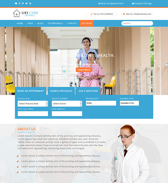 VW-Hospital-Lite-WordPress Medical Theme