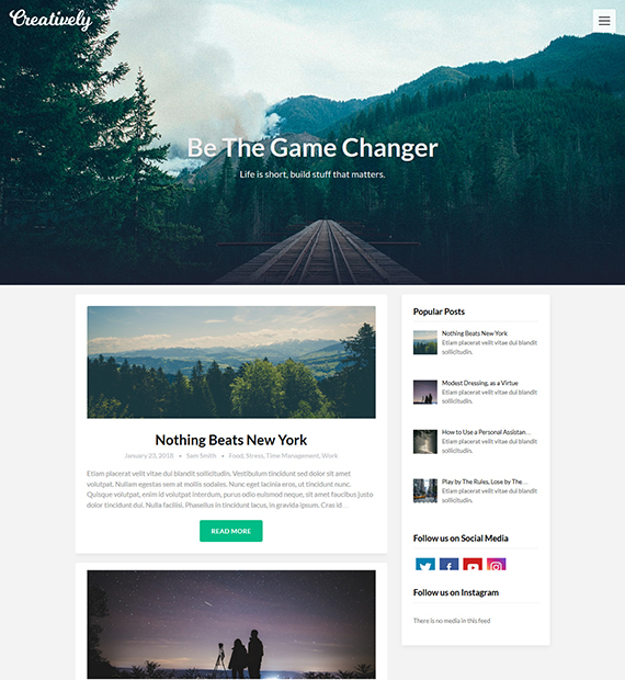 creativeily-wordpress-magazine-theme