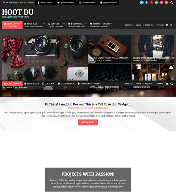 hoot-du-wordpress-multipurpose-theme