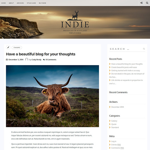 indie-wordpress-blogging-theme