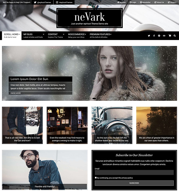 nevark-wordpress-multipurpose-theme