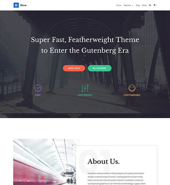 neve-free-wordpress-multipurpose-theme