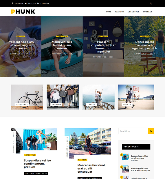phunk-wordpress-blogging-theme