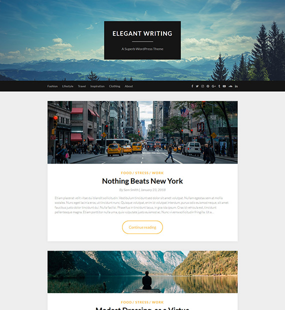ElegantWriting-WordPress-Blogging-Theme