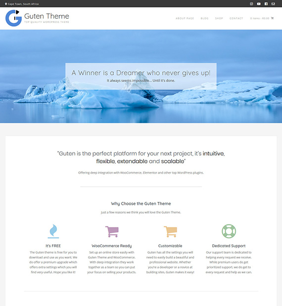 Guten-WordPress-Multipurpose-Theme