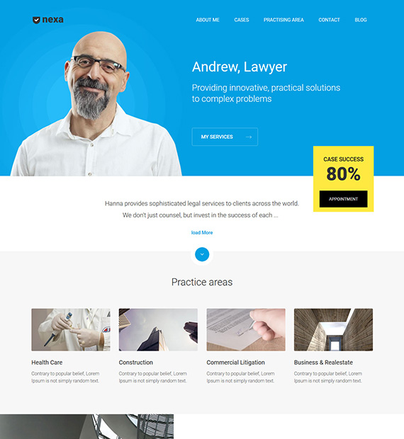 nexa-lead-lite-wordpress-portfolio-theme