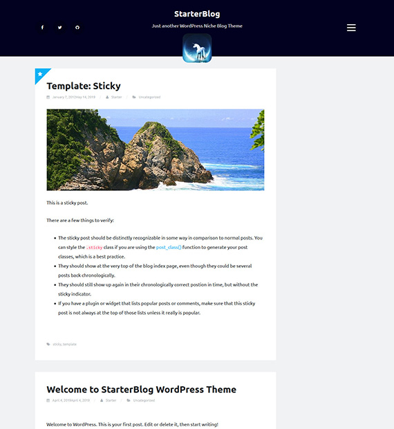 starter-blog-wordpress-blogging-theme
